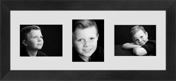 black & white portrait photography